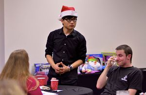 Great Expectations students celebrate their accomplishments at the annual Holiday Party